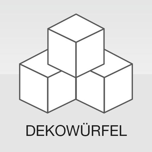 Dekowürfel Pappwürfel Sitzwürfel