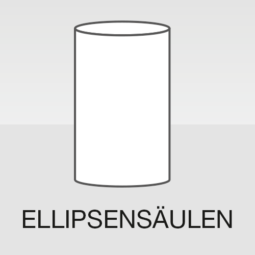 Ellipsensäule Ellipsendisplay